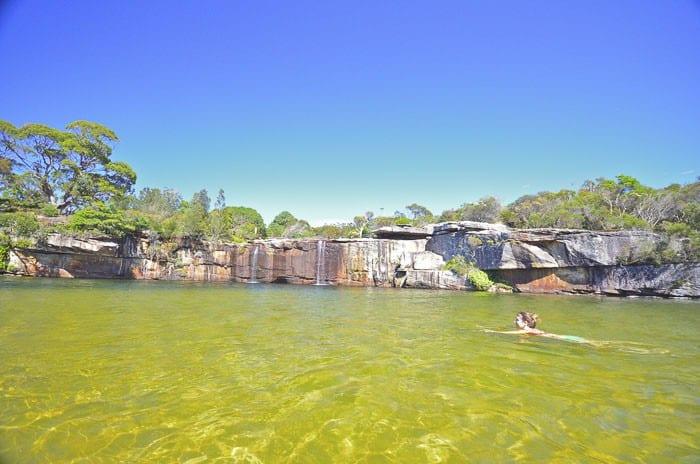 4 - Wattamolla wild swimming in Sydney