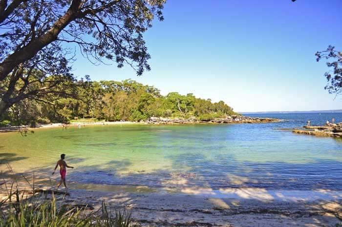5 - Honeymoon Bay _1 wild swimming in Sydney
