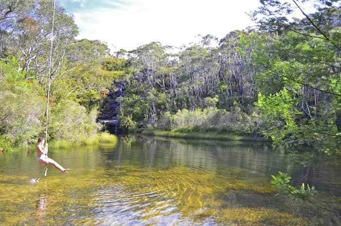8 - Ingar Dam_1 wild swimming in Sydney