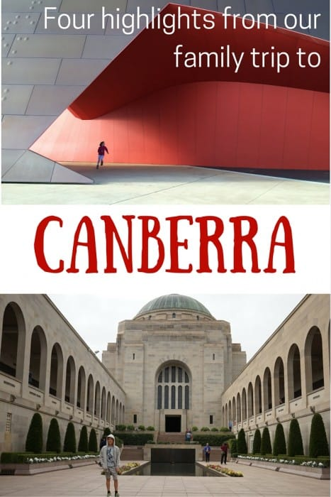 Canberra family trips