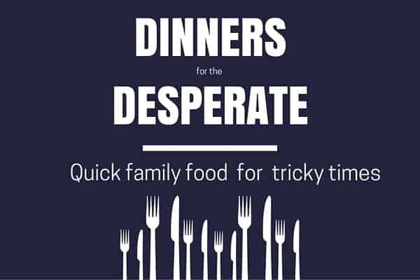 Dinner for desperate 600