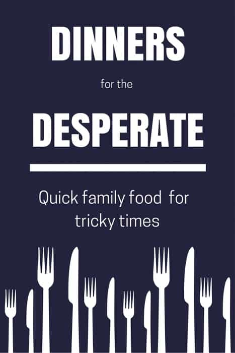 fast healthy meals to feed the family