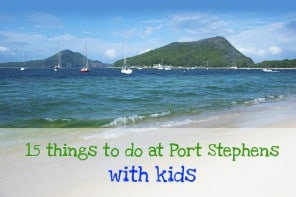 15 Things To Do At Port Stephens With Kids