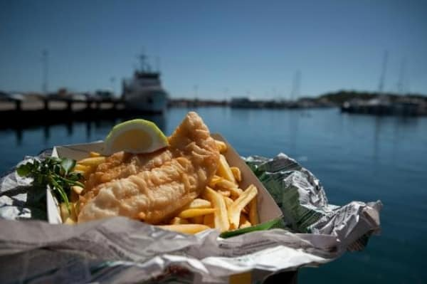16. Fish and chips NB Marina