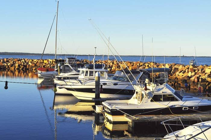 18. Marina Boats
