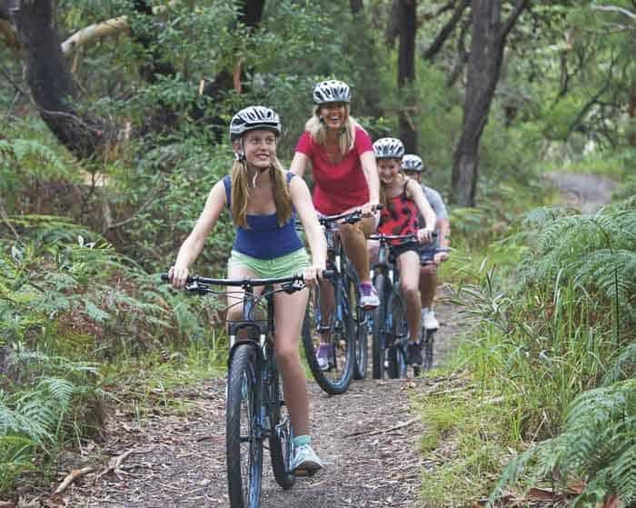 7. Family Biking