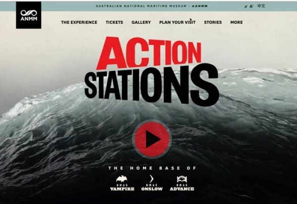 Actions stations ANMM
