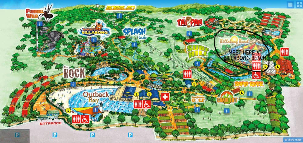 Jamberoo park map_mini 2