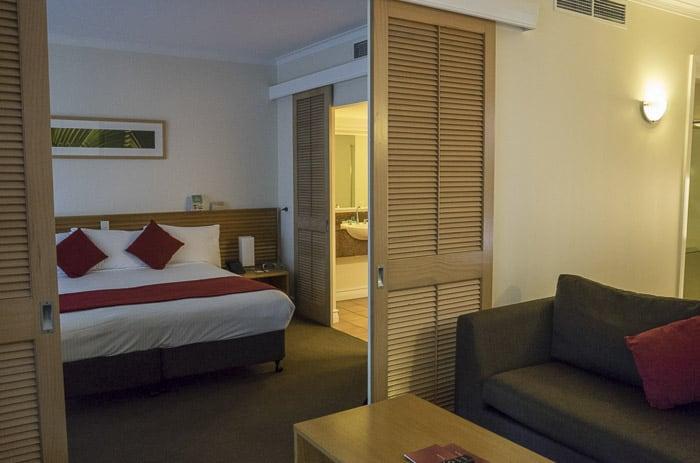 Novotel Twin Waters Resort suites