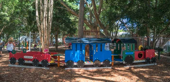 kids playground at Eumundi market_1