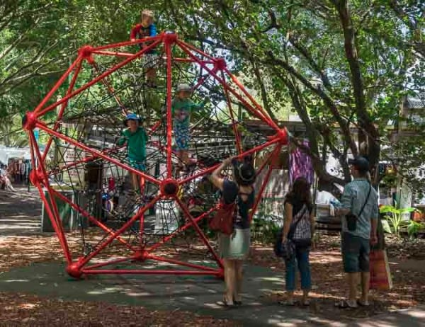 kids playground at Eumundi market_5