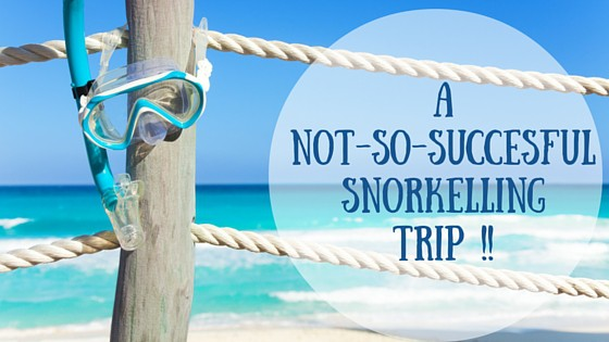 A not-so-succesful snorkelling Trip