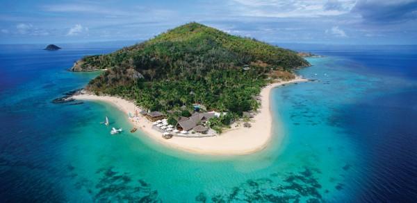 Castaway Island wide shot