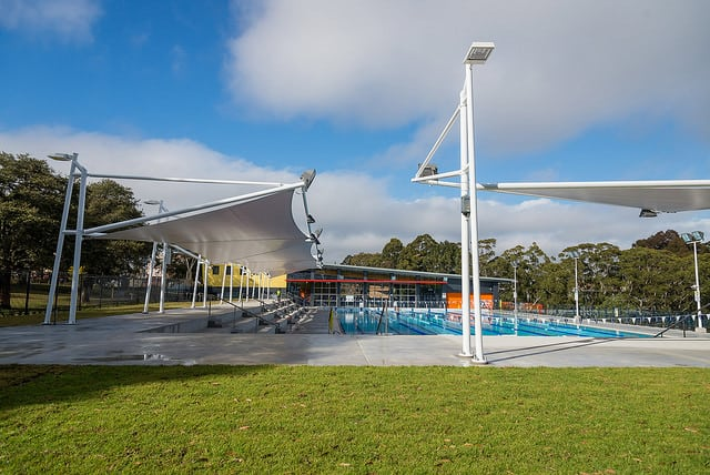 Hornsby Leisure centre outdoors pool