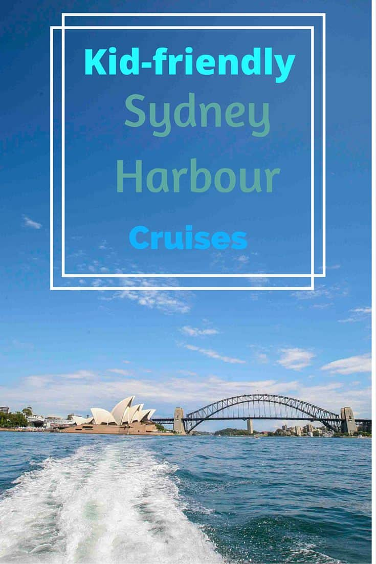 Harbour Cruises sydney pinnable image