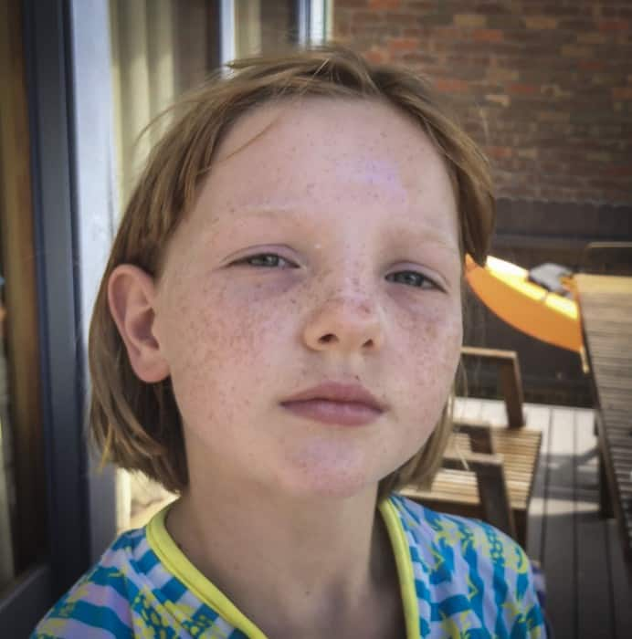Sun screen zinc kids 2