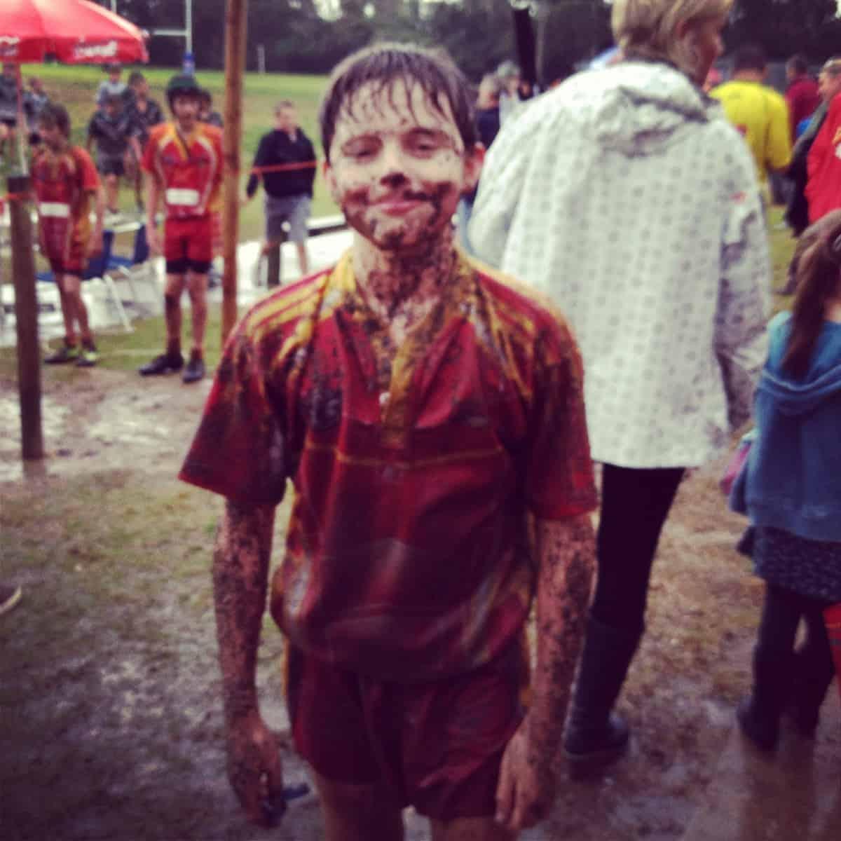 Dexter muddy man