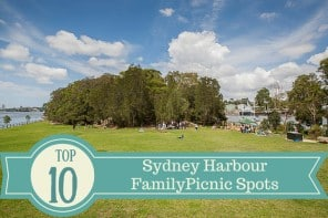Top Ten Sydney Harbour Family Picnic Spots –  and a Protein-Packed Sandwich That's Quick to Make and Take