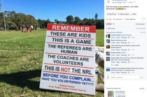 Kids' Sports – The Photo That Touched A Nerve and Went Viral