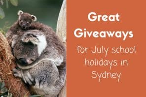 July School Holidays in Sydney: Giveaway