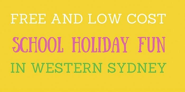 Free and Low cost In Western Sydney 700