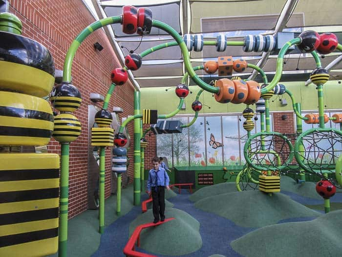 Backyard playground at Rouse Hill Town Centre - Best kids playground Sydney