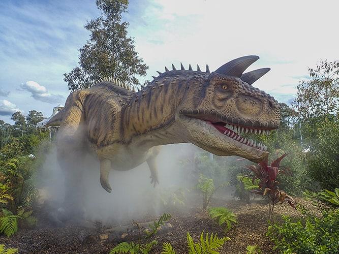 Dinosaur lagoon Wet'n'Wild Sydney