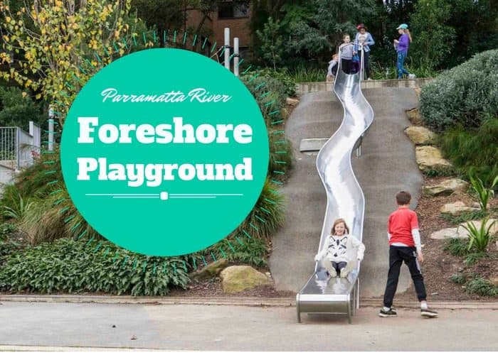 Parramatta River Foreshore Playground pic