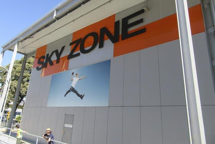 Sydney indoor playgrounds sky zone alexandria
