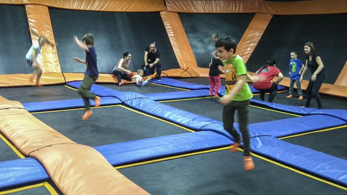 Sky Zone Alexandria Sydney trampolining