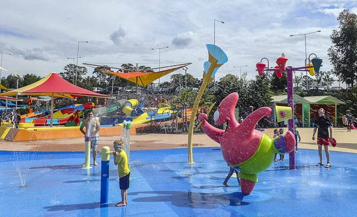 Wet'n'wildsydney with kids