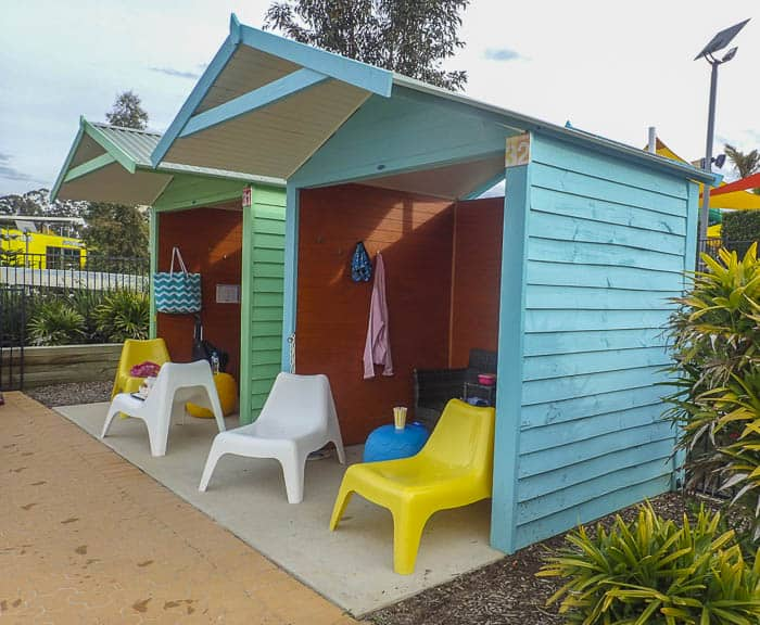 cabana at Wet'n'Wild Sydney