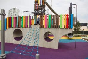 Wulaba Park Playground in Waterloo – Fabulous Colourful Sydney Playground