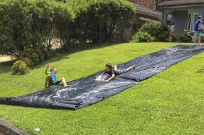 How To Make Water Slides at Home
