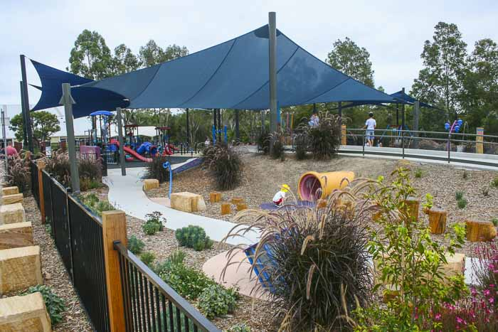 Livvi's Place playground Bernie Mullane Sports Complex