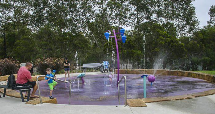 Livvi's Place playground Bernie Mullane