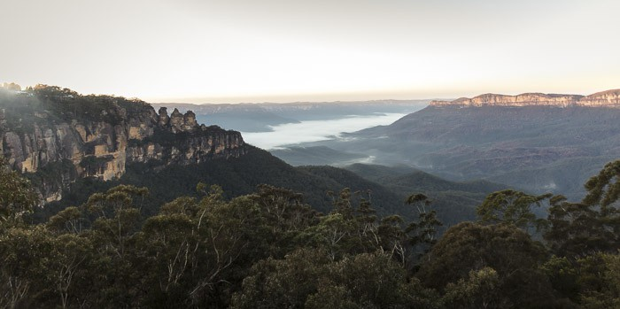 blue mountains activities include wonderful views