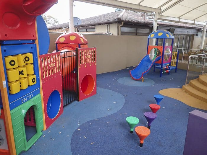 Greystanes Hotel covered playground