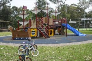 Ruddock Park + Pirate Playground in Westleigh, Sydney