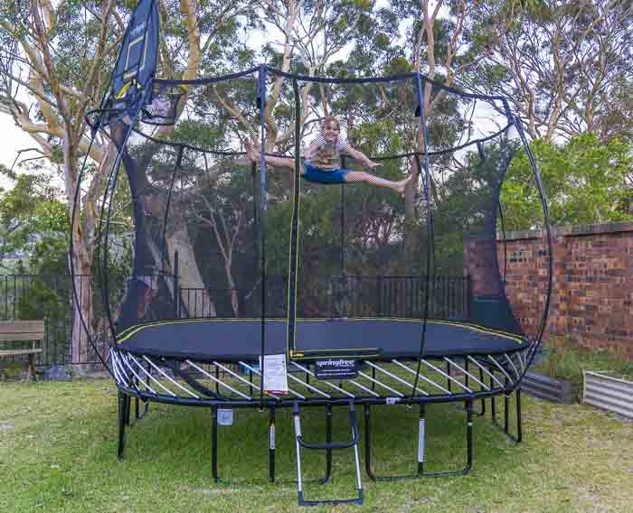10 Reasons We Chose A Springfree Trampoline