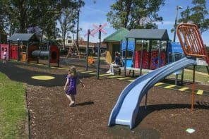 Glenbrook Park Playground, Lower Blue Mountains