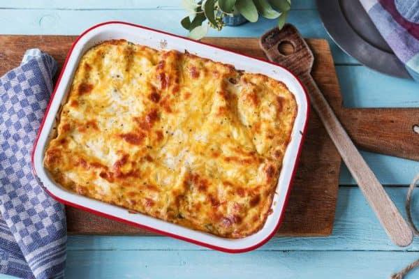 Quick easy cheats lasagna