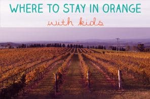 Where To Stay In Orange With Kids