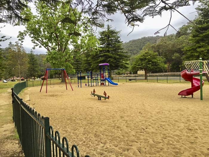 playground at Bobbin Head