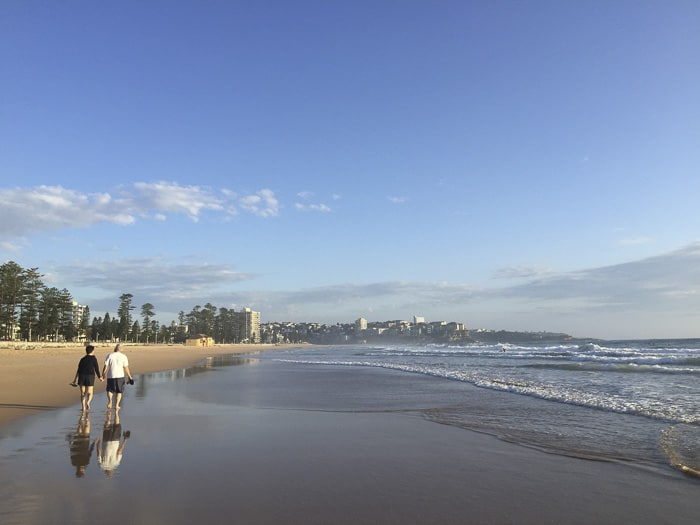 manly beach stroller walk