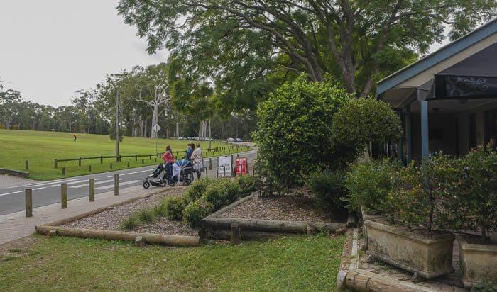 pram friendly walks sydney parramatta park