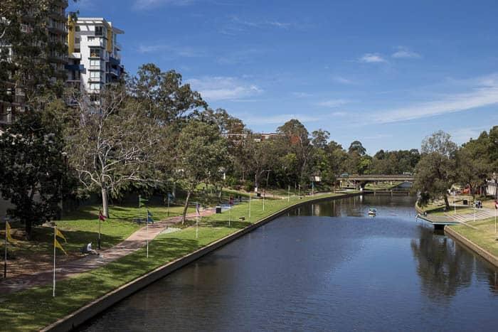 Parramatta Riverside walk