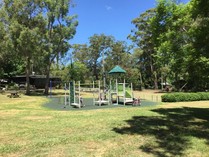 Dangar Island playground