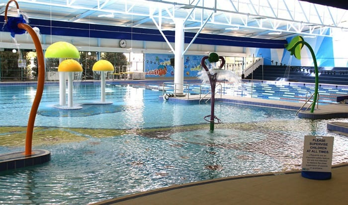 Sutherland Leisure Centre swimming pools in Sydney