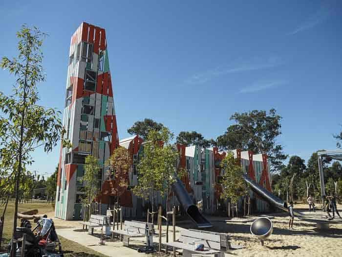 Bungarribee Park Playground tower